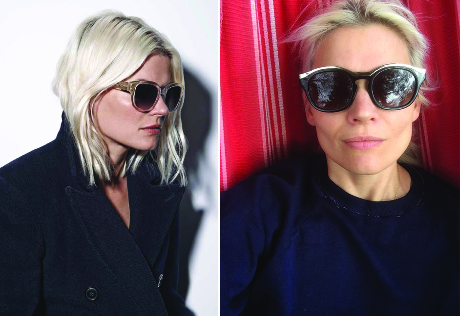 600f43cf9663f Stylist Kate Young s Sunglasses for Tura
