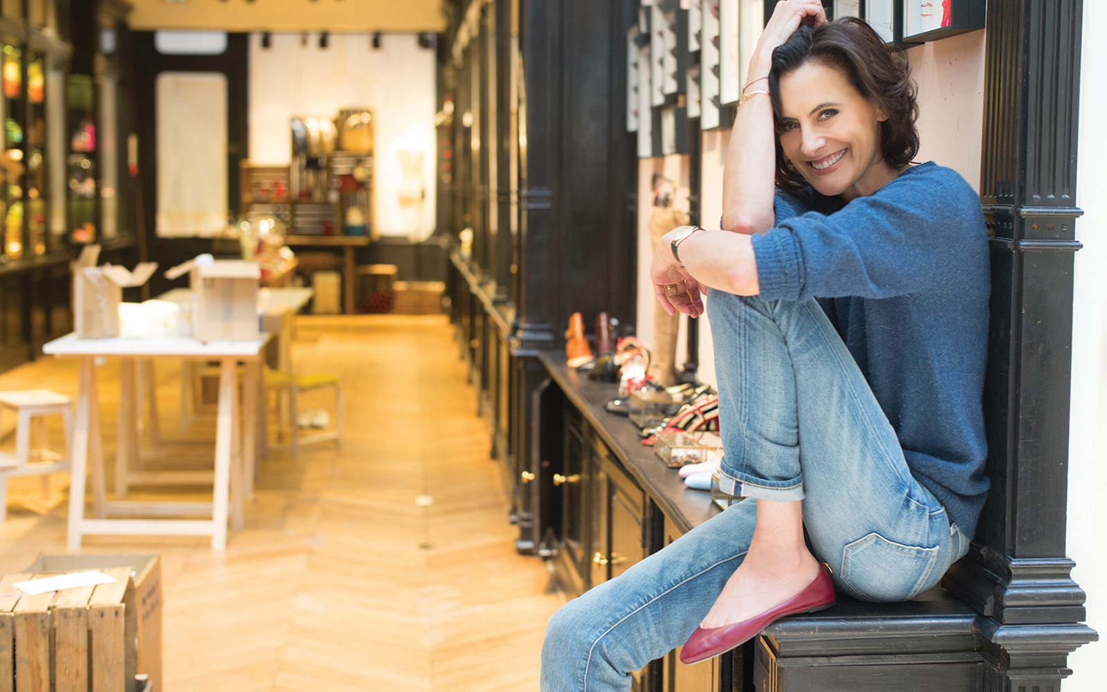 In s de la fressange talks about her new paris store - Maison ines de la fressange ...