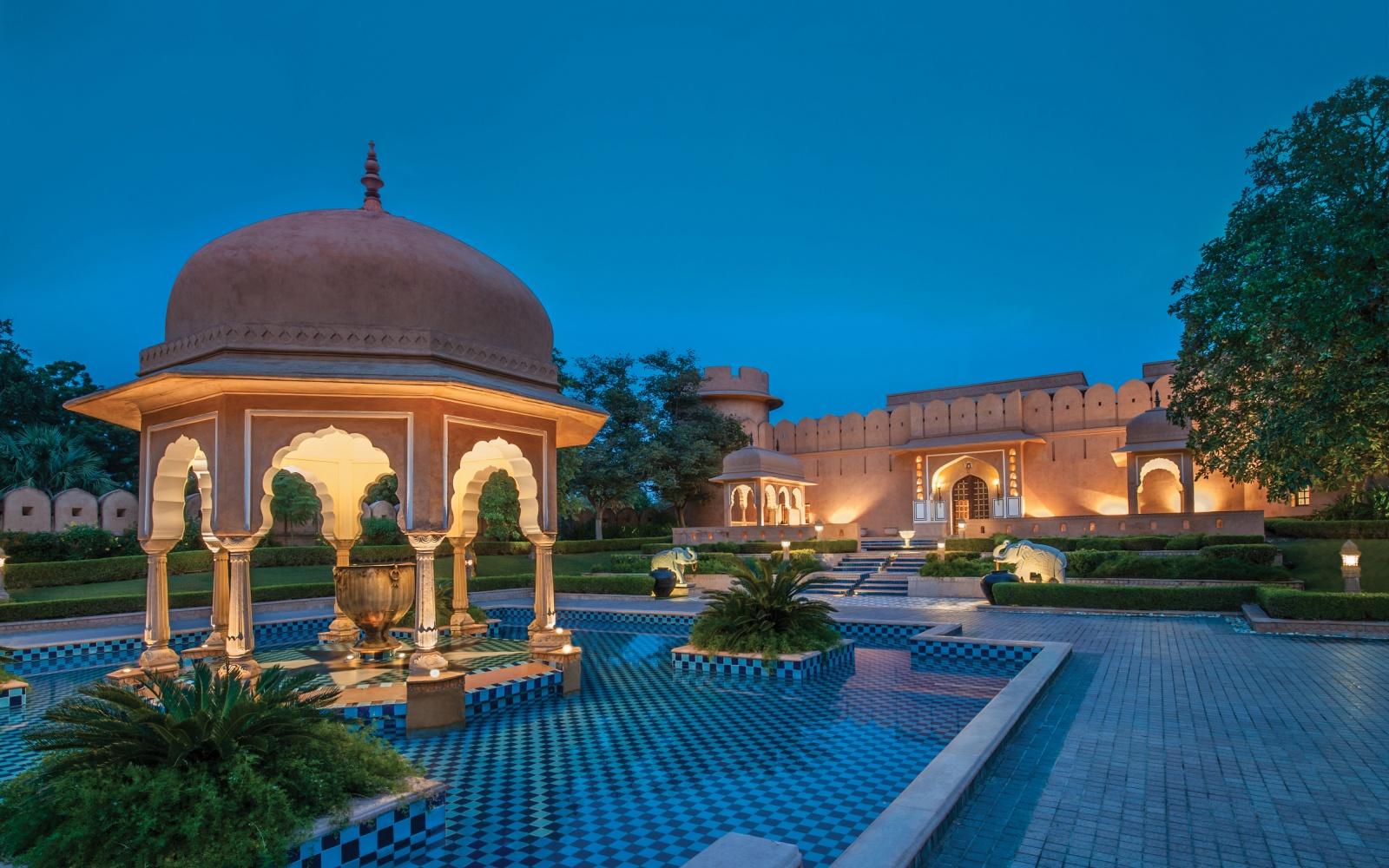 Oberoi Rajvilas Travel Leisure