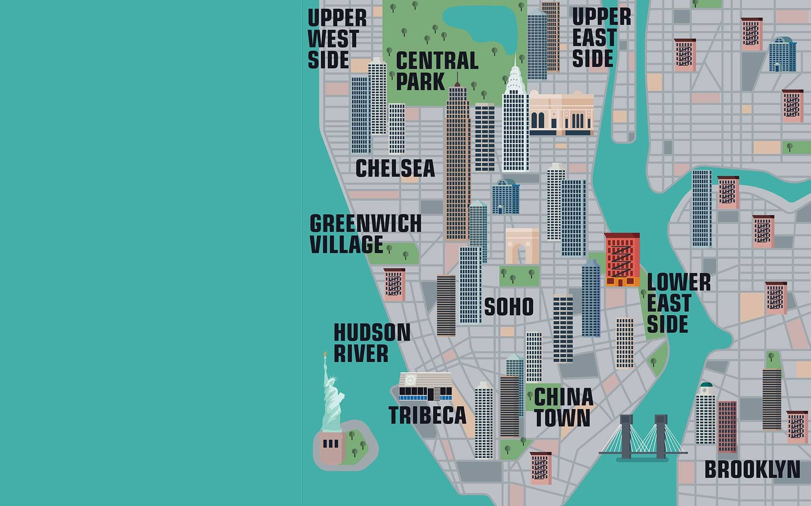 Mapa Manhattan New York Manhattan New York City Tourist Map New – New York City Tourist Map