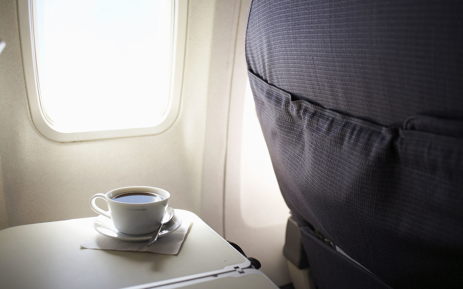 why your airplane coffee always tastes weird