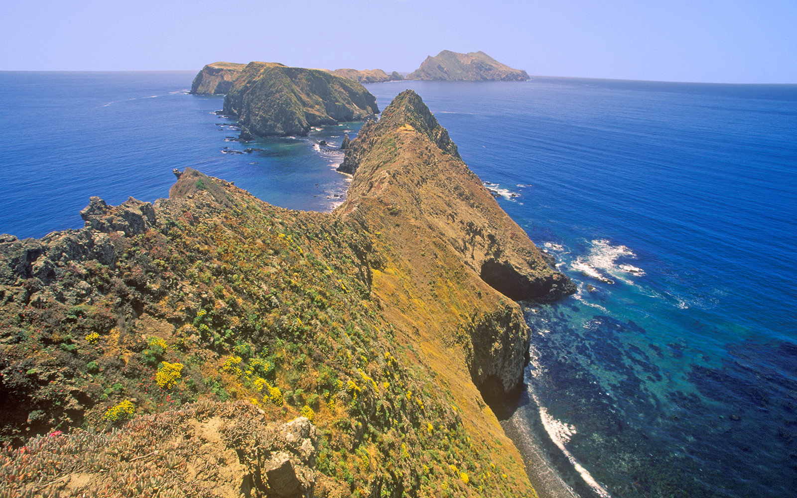 Inspiration Point on Anacapa Island, Channel Islands National Park, California (Photo by Visions of America/UIG via Getty Images)