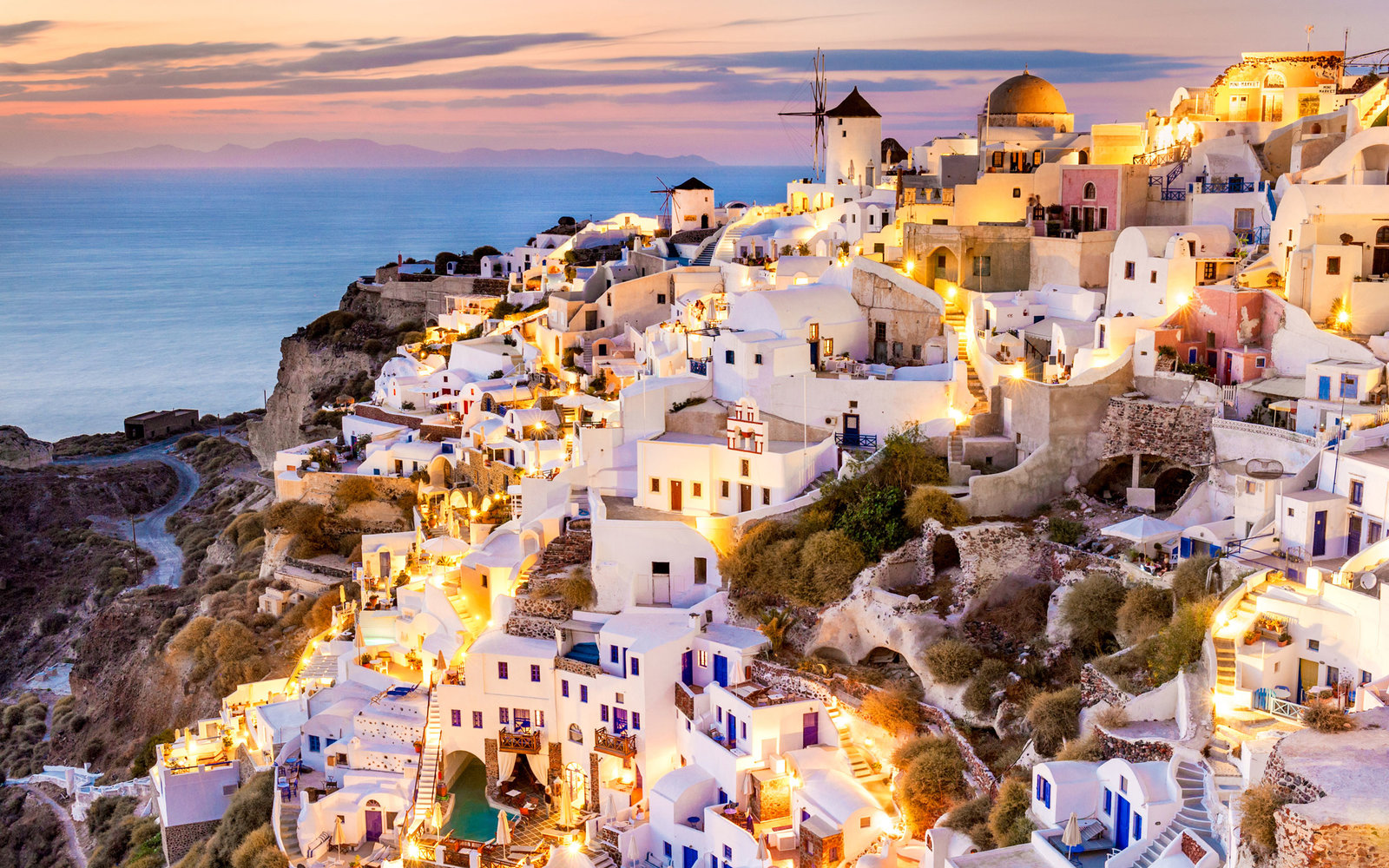 If you didn't want to visit Santorini before, you do now.