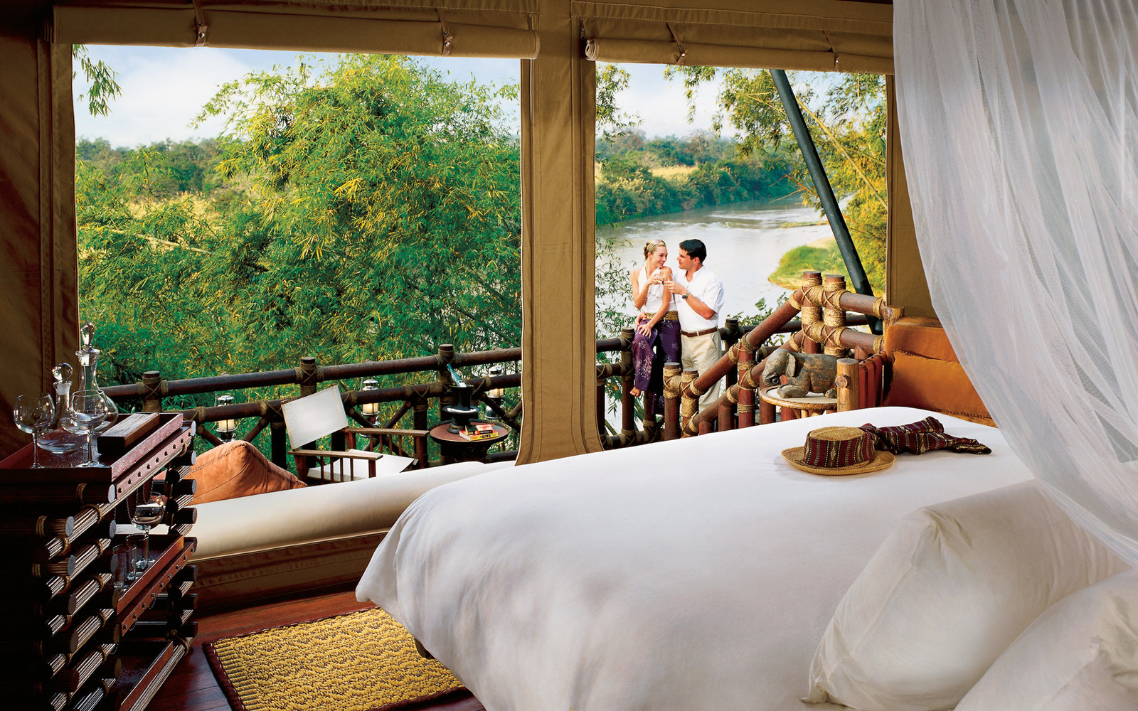 15. Four Seasons Tented Camp Golden Triangle