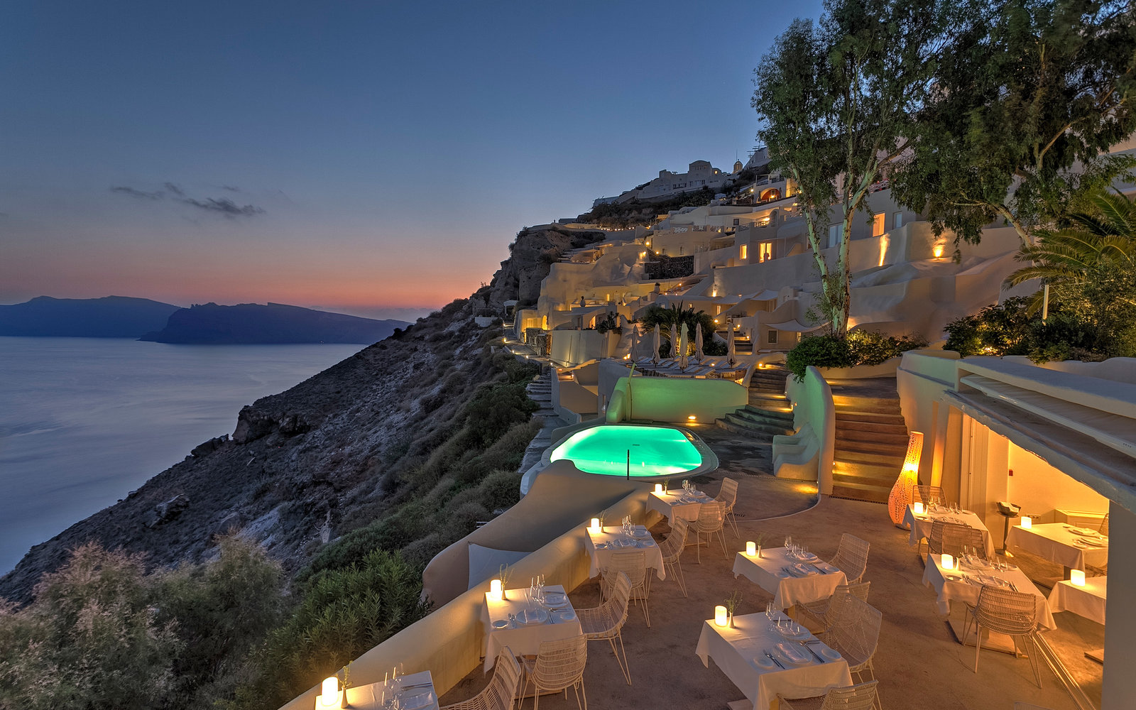 13. Mystique, Santorini, Greece