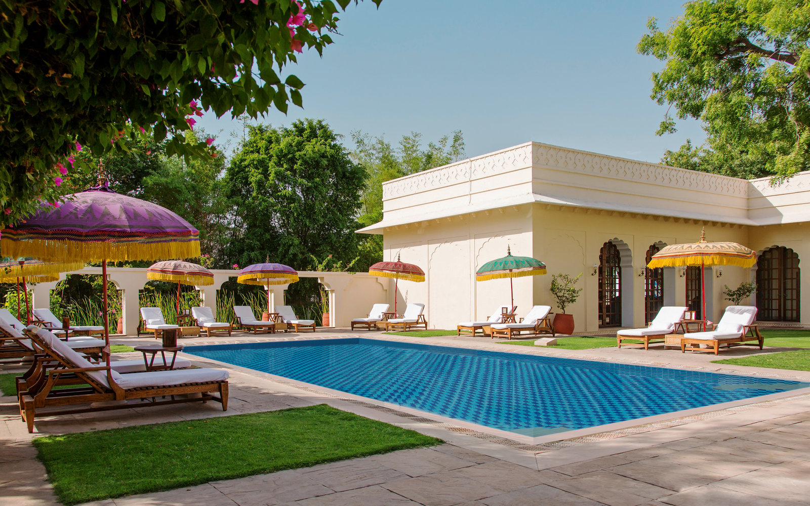 5. The Oberoi Vanyavilas, Ranthambhore, India