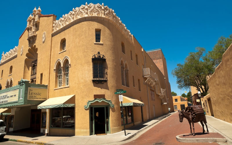 Santa Fe, New Mexico best winter vacations