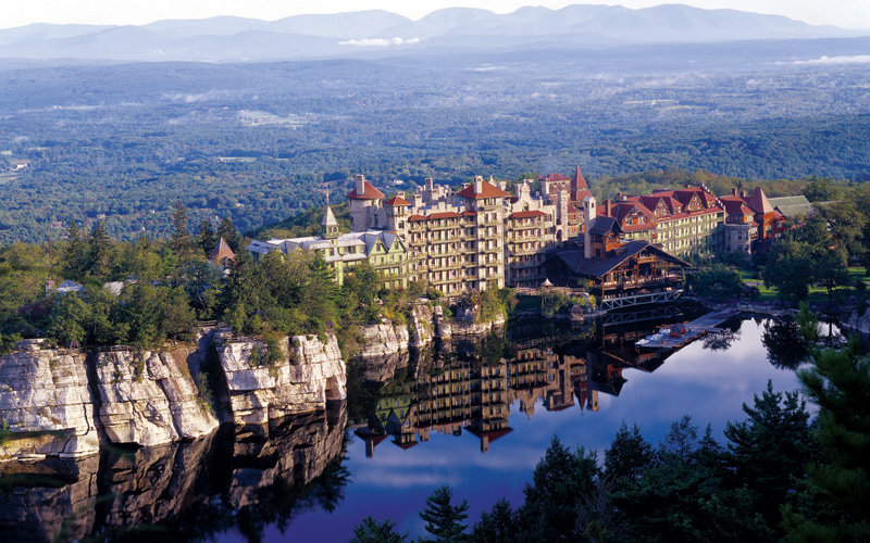 Mohonk mountain house hotel new paltz ny america 39 s for Spa vacations near nyc