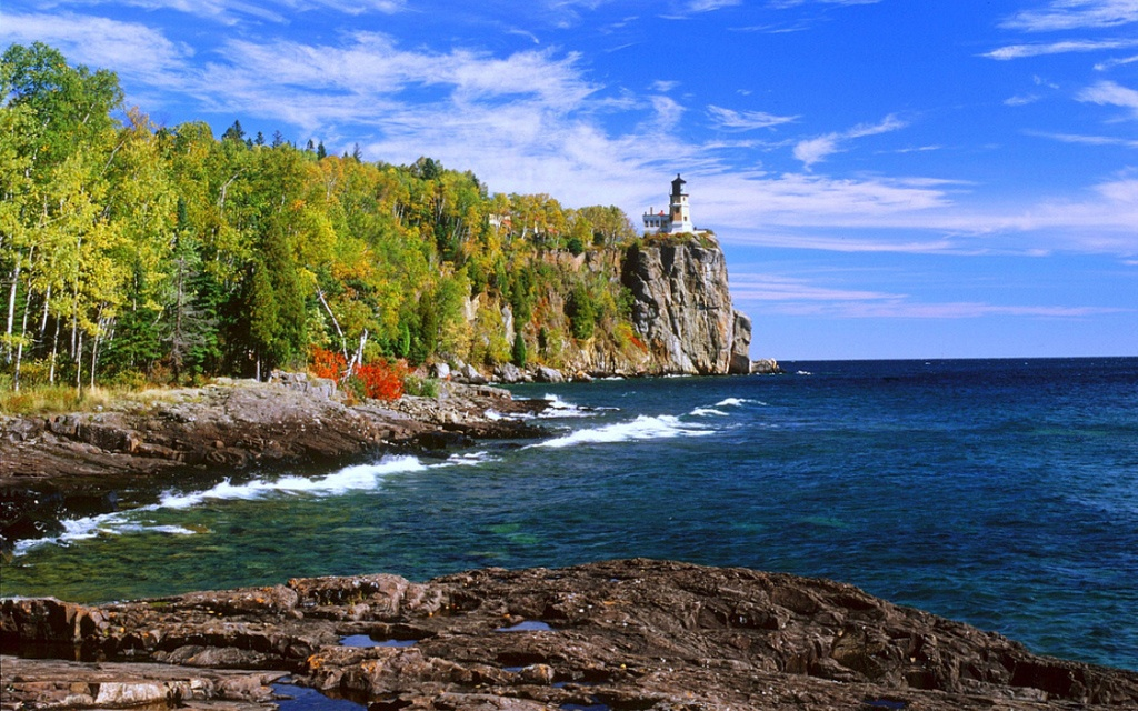 Lake superior michigan minnesota wisconsin for Migliori cabin charter in wisconsin