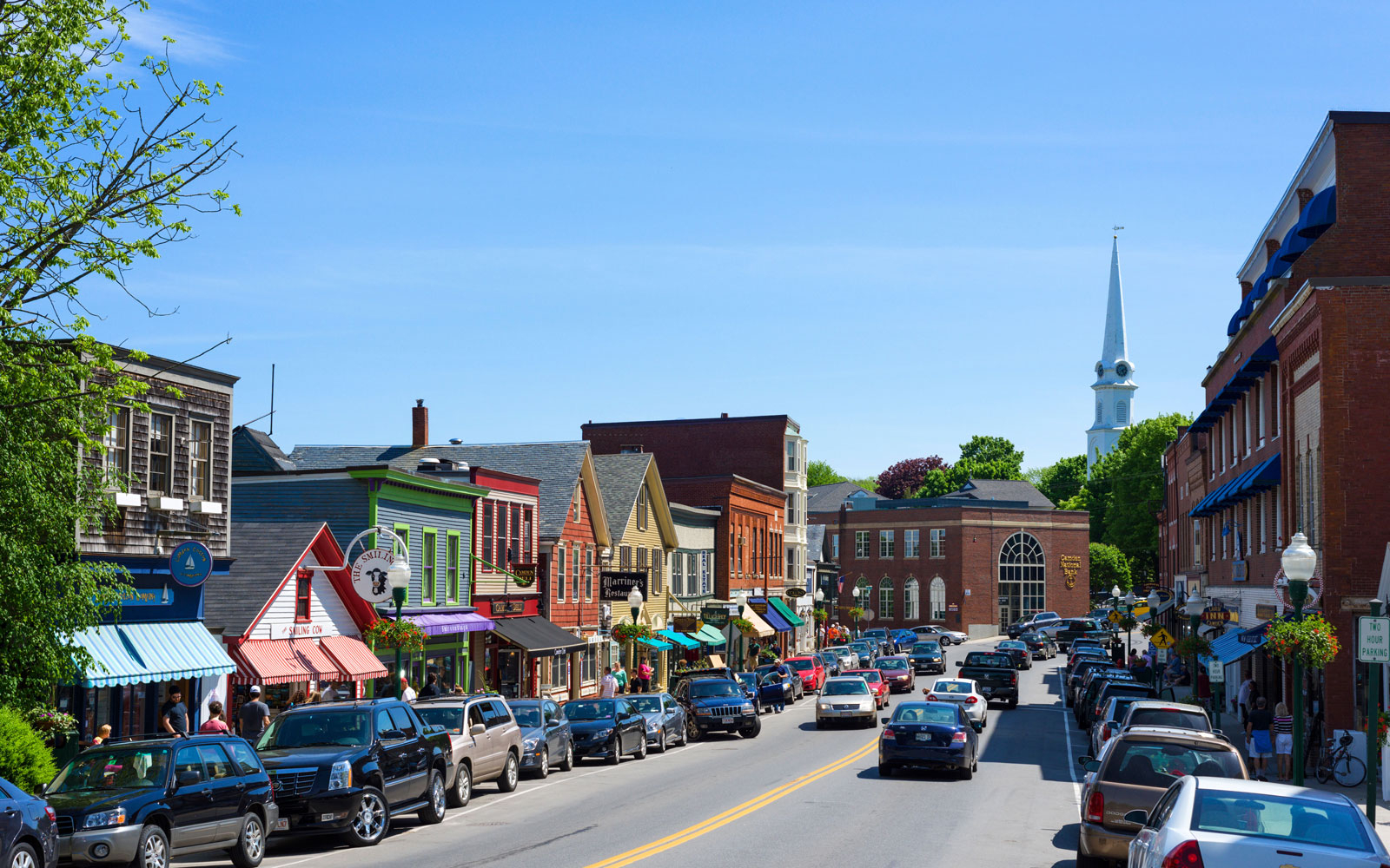 Camden me most beautiful coastal towns travel leisure for Public fishing areas near me