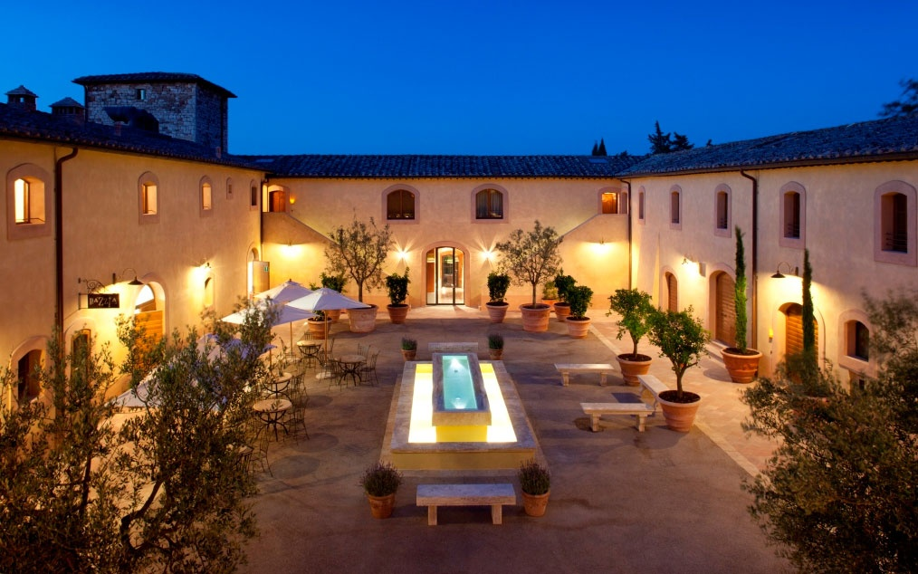 No 2 castello di casole a timbers resort casole d elsa for Romantic hotels of the world