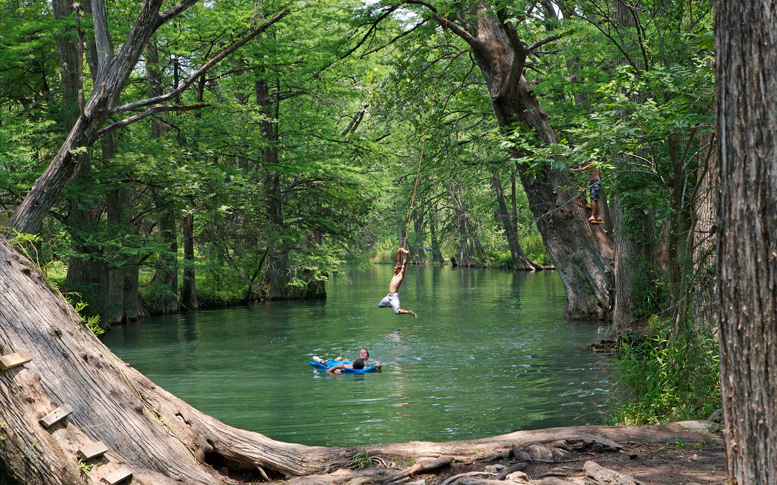 The Blue Hole Wimberly Tx America S Best Swimming