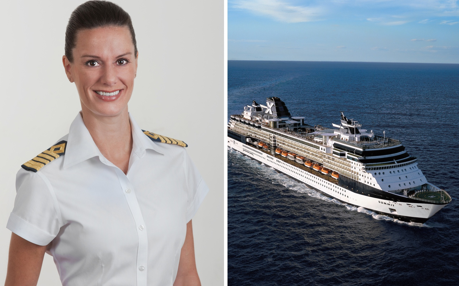Meet The First American Female Captain Celebrity Cruisesu0026#39; Kate McCue | Travel + Leisure