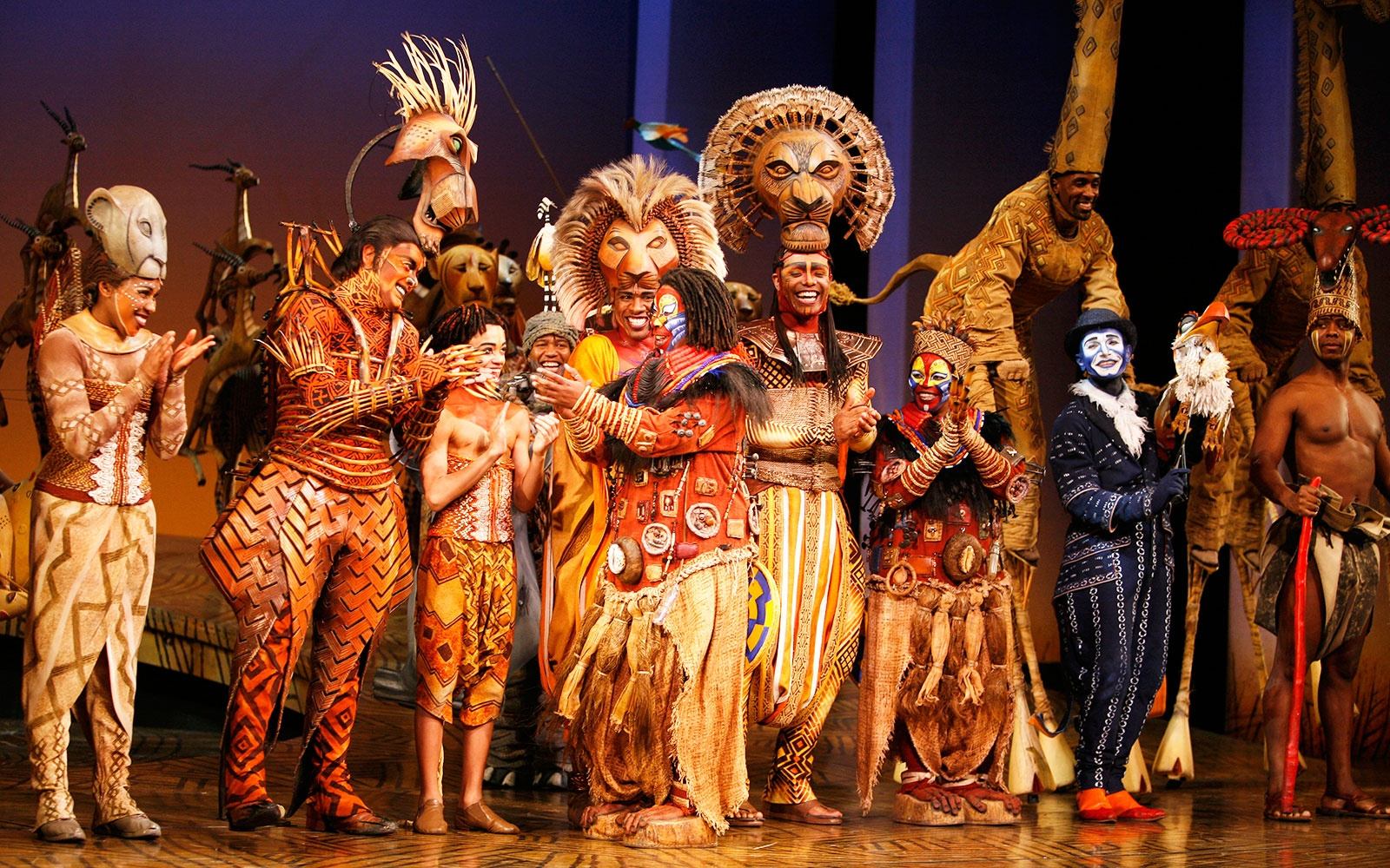 Watch the broadway casts of the lion king and aladdin have for The broadway