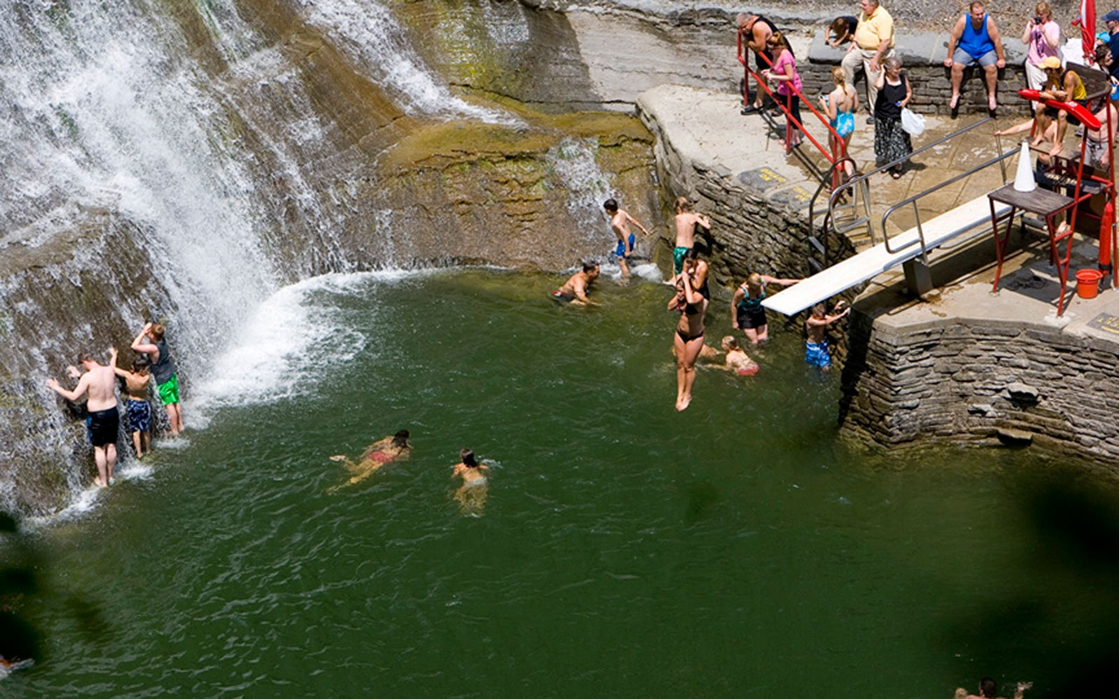 Enfield falls ithaca ny america 39 s best swimming holes travel leisure Stony brook swimming pool hours