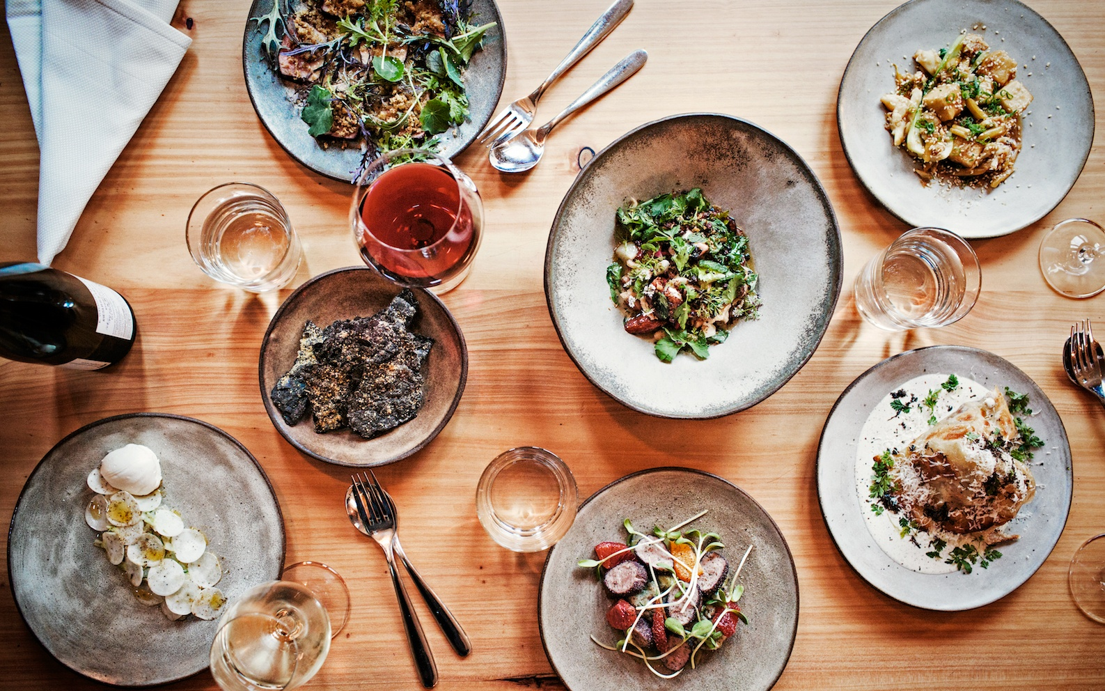 The best dishes in western addition san francisco s for Latest dinner table