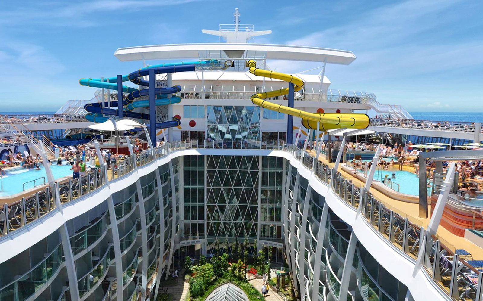 Harmony of the seas enters final round of construction for Round the world cruise 2016
