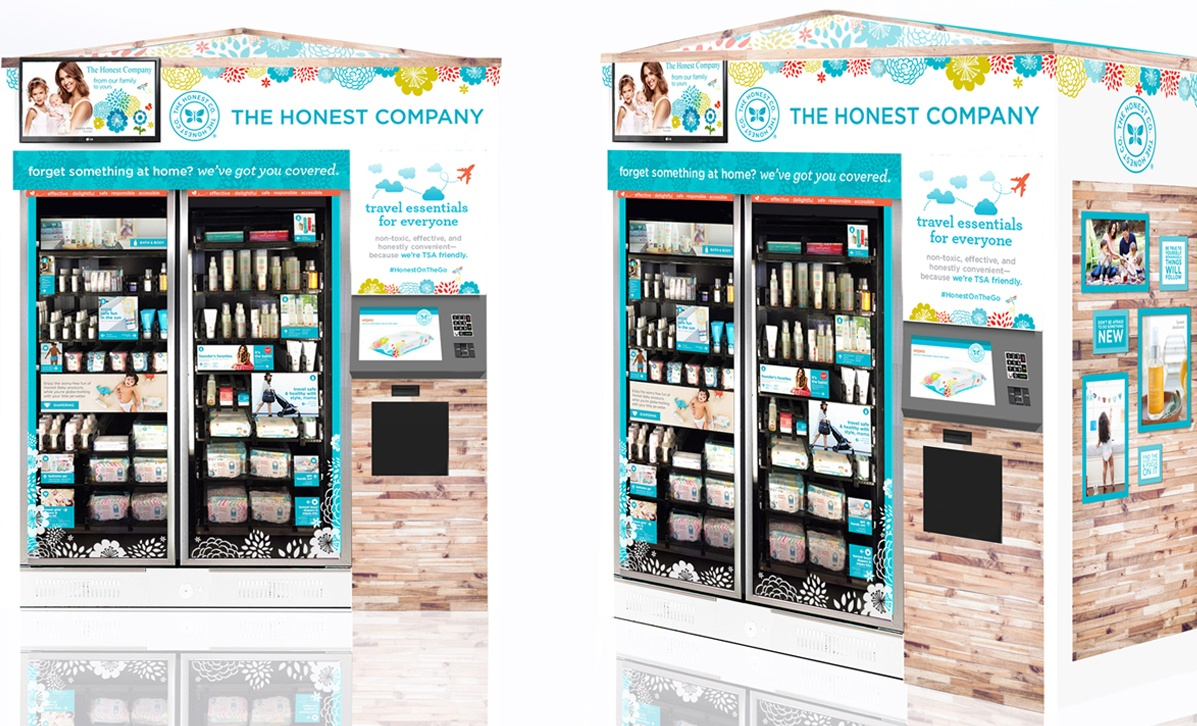 Jessica Alba's The Honest Company is Opening Kiosks in Airports Across the Country