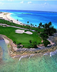 Celebrity Golf in the Bahamas