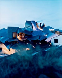 A Gehry Hotel in Basque Wine Country