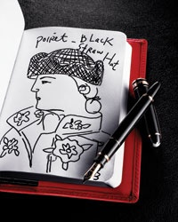 The Montblanc Fountain Pen