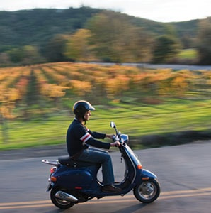 Napa and Sonoma's Vespa Tours
