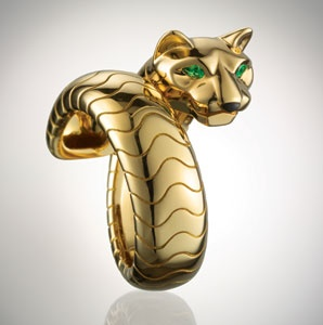 Cartier's Panther Ring