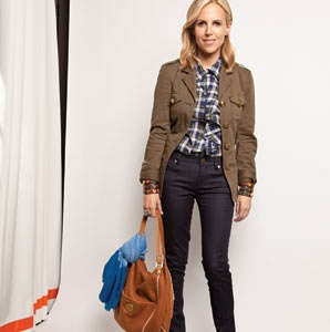 Tory Burch's Travel Outfit