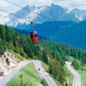 Hot Spots of Italy's Dolomite Mountains