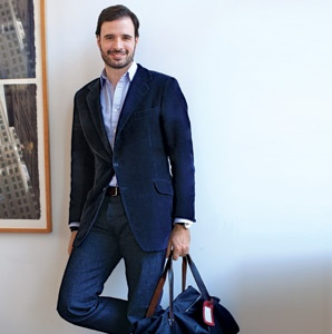 Wahanda CEO Lopo Champalimaud's Travel Uniform
