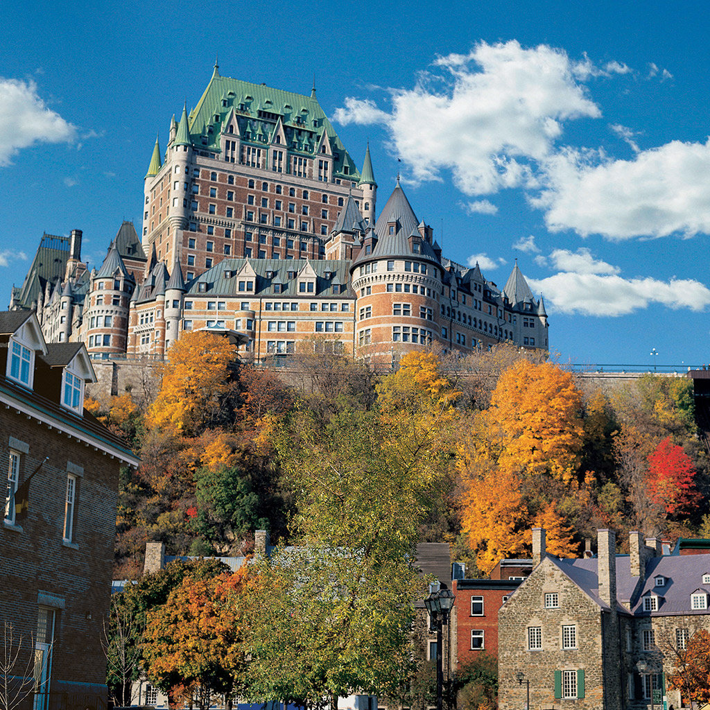Top luxury hotels in quebec city travel leisure for Design hotel quebec city