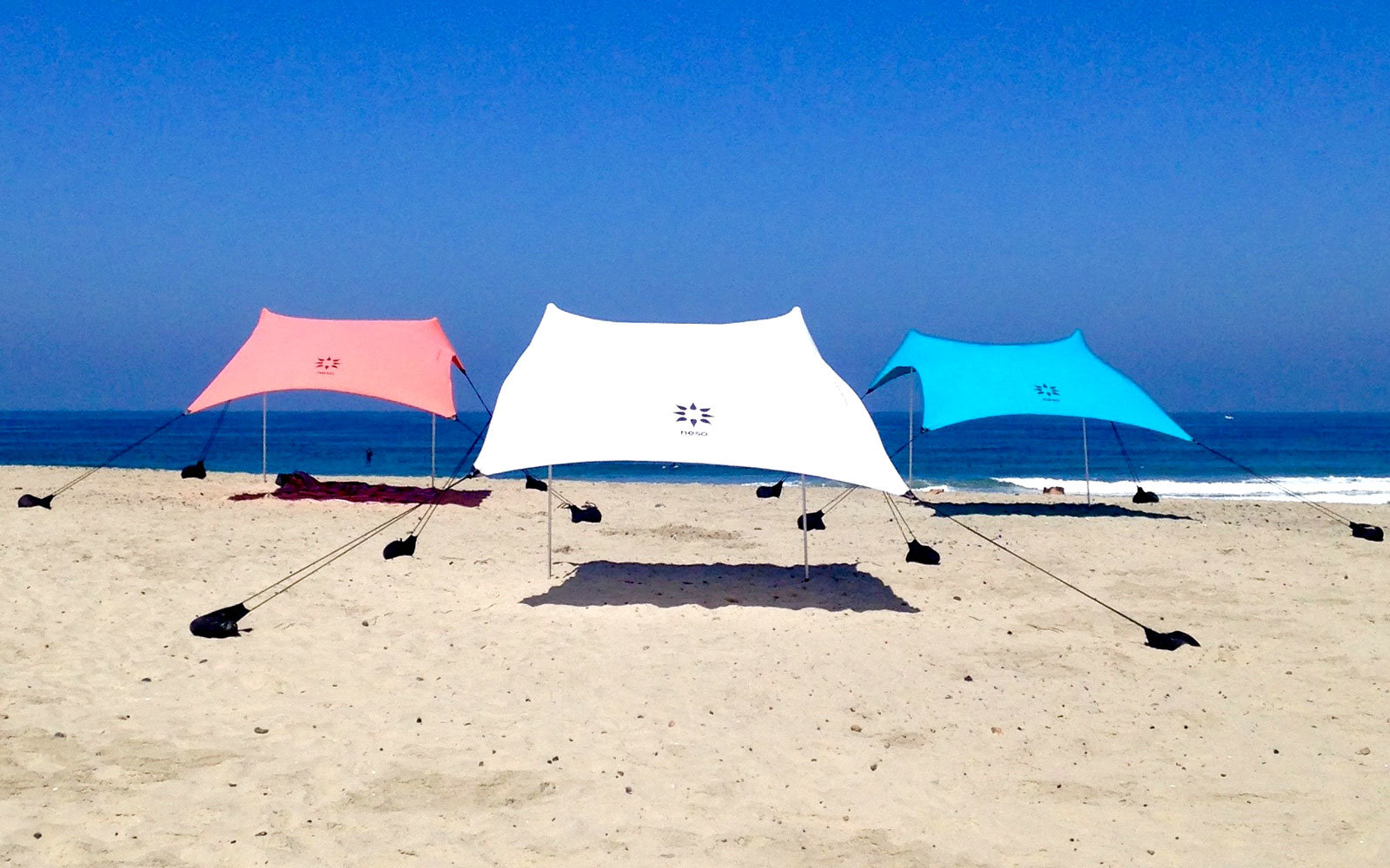 Travel Product Review Neso Beach Tent Travel Leisure