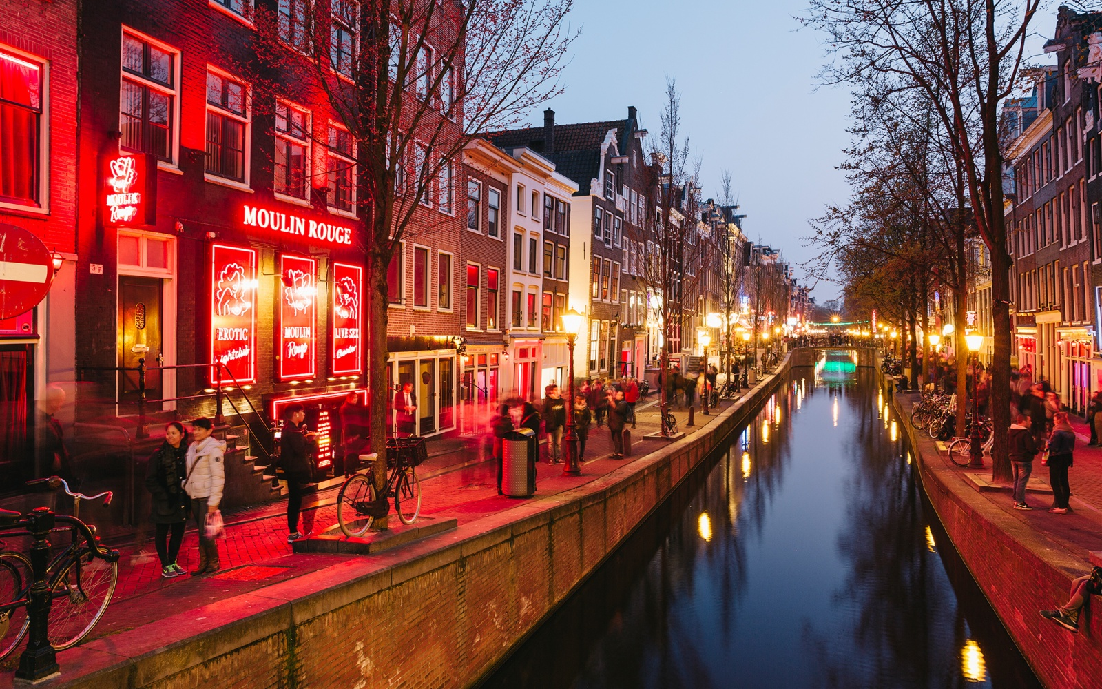Amsterdam s changing red light district travel leisure