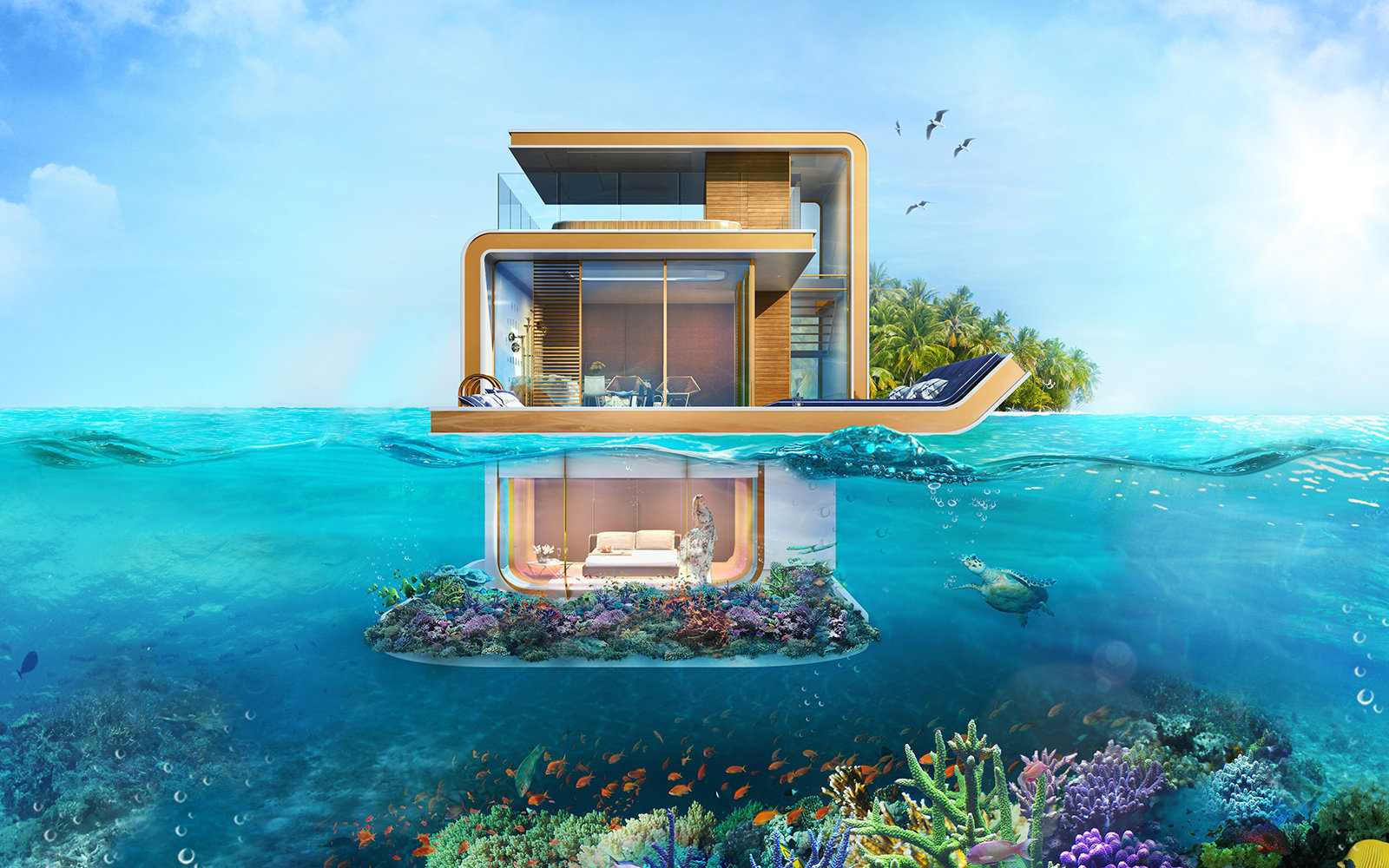 Underwater Villa in Dubai
