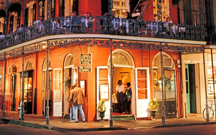 French Quarters in New Orleans, LA