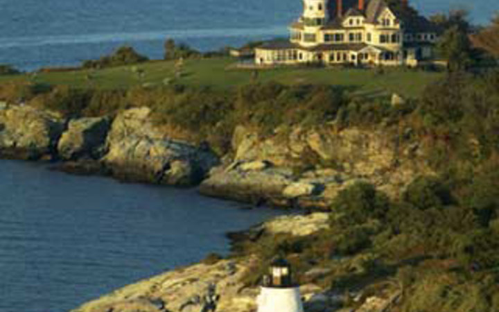 Castle Hill Inn beachfront hotel in Newport, RI