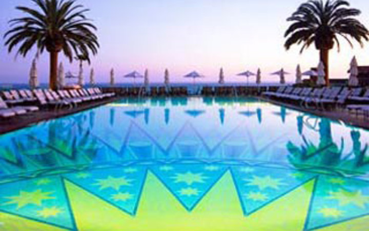 guest pool at the Montage Laguna Beach, CA