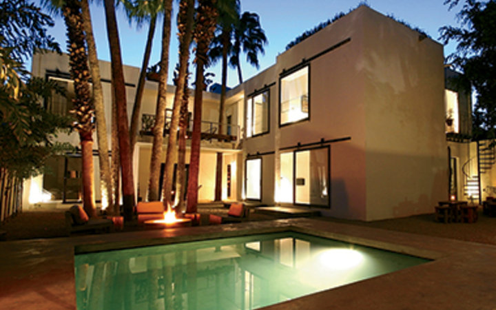 Airbnb vacation rental home with pool