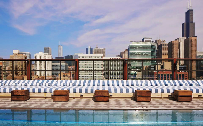 Soho House Hotel in Chicago