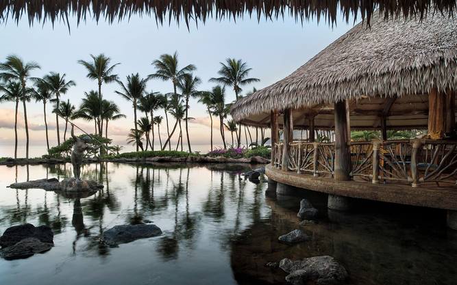 The Grand Wailea Hotel in Maui