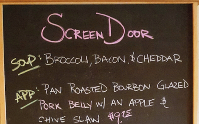 Screen Door Restaurant in Portland