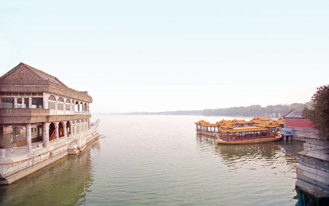 Yiheyuan Summer Palace in Beijing
