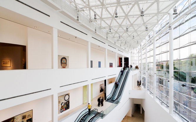 MALBA Museum in Buenos Aires