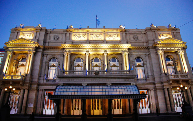 Teatro Colón Theater in Buenos Aires