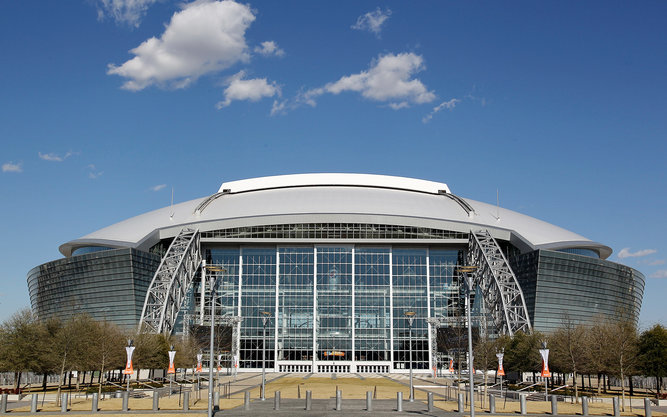 AT&T Sports Stadium in Dallas