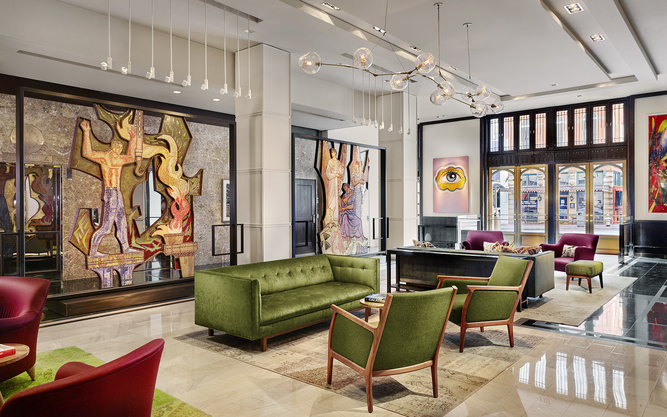 The Joule Hotel in Dallas