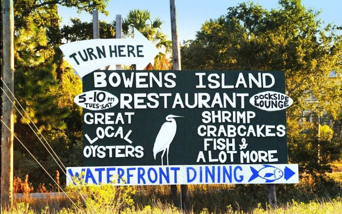 Bowen's Island Restaurant in Charleston
