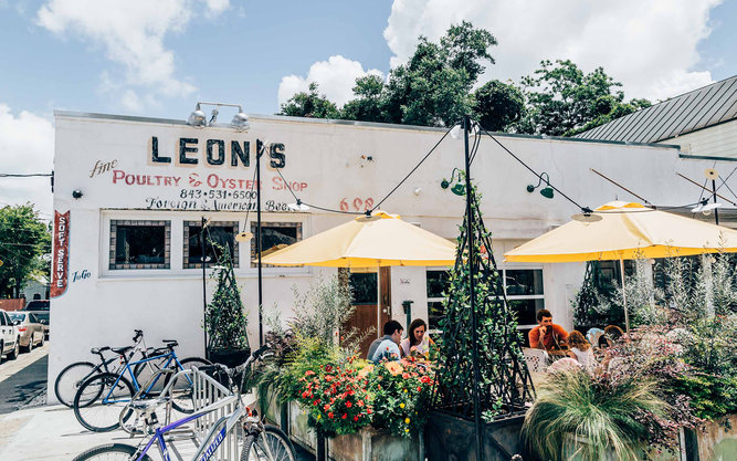 Leon's Oyster Shop Restaurant in Charleston