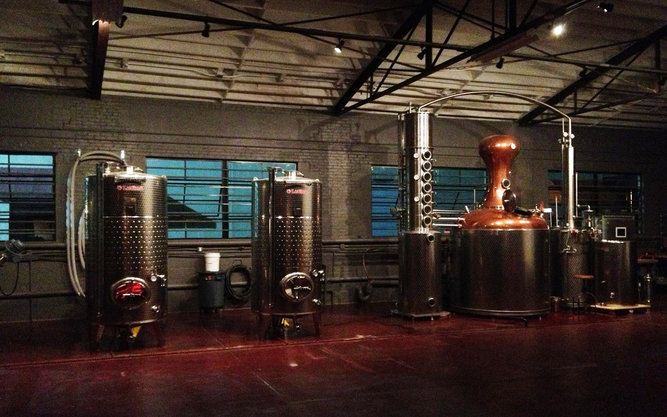 High Wire Distilling Brewery in Charleston
