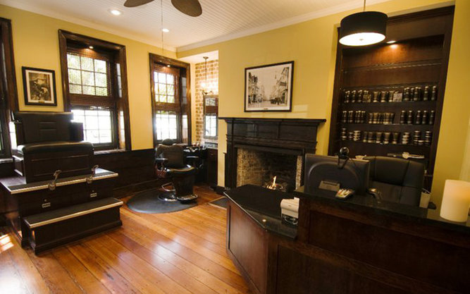 Old South Barber Spa in Charleston